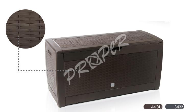 a74577fd7fb5f Prosperplast úložný box Rato 310l hnedý