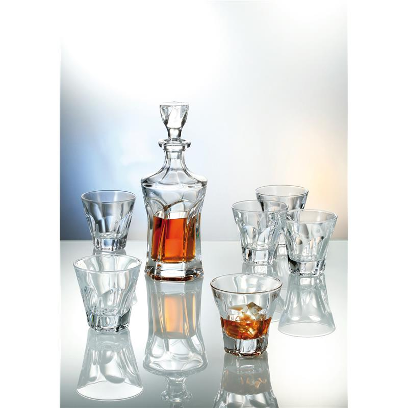 Apollo whisky set 1+6 Bohemia